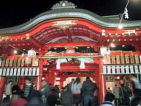 生田神社・初詣