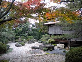 御香宮神社・小堀遠州ゆかりの庭園の再現
