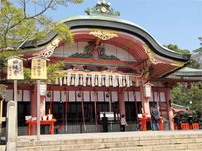 伏見稲荷大社・拝殿