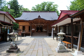 八幡秋田神社・新社殿