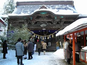 八幡秋田神社・旧社殿