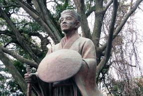 氣比神社・松尾芭蕉