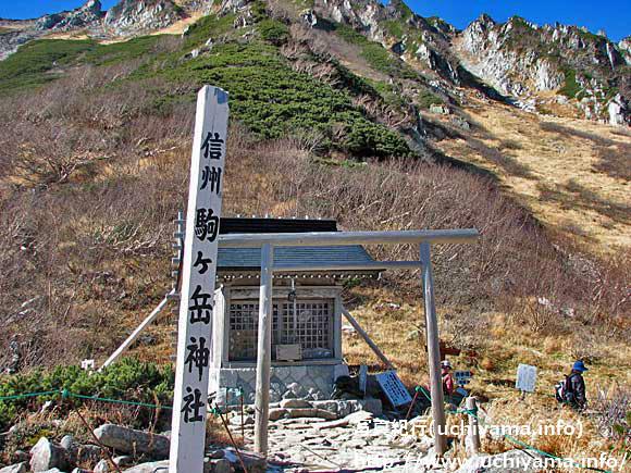 駒ヶ岳神社