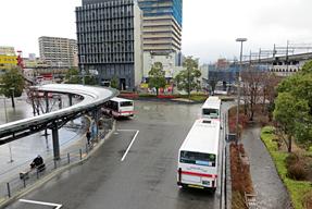 JR岐阜駅バスターミナル