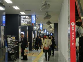 博多バスターミナル・1階市内バス乗り場