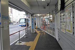 新宿駅JR高速バスターミナル・待合室