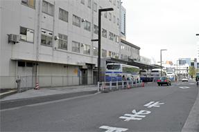 新宿駅JR高速バスターミナル・全景
