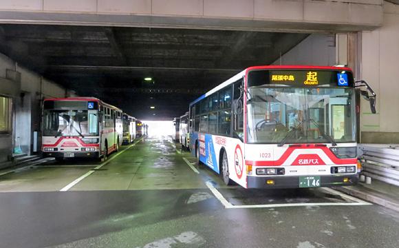 名鉄一宮駅バスターミナル