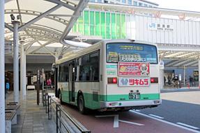 JR奈良駅前バスターミナル・東口
