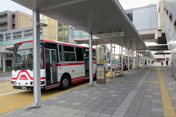 JR岡崎駅前バスのりば