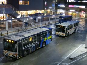 下関駅前バスターミナル