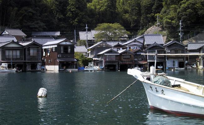 京都・伊根港