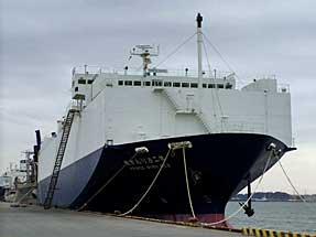 自動車専用船