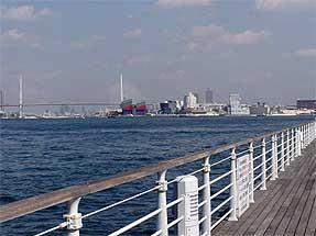 大阪港・天保山岸壁