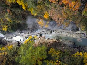 小安峡温泉