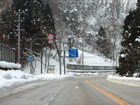 五箇山への道