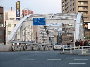 北上川・開運橋