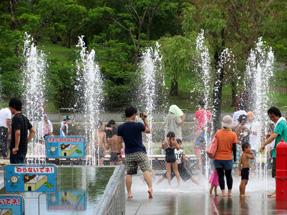 水遊び広場