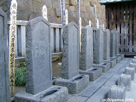 赤穂浪士の墓