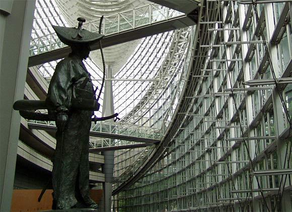 太田道灌の像