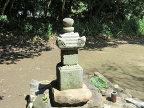 鎌田政家と妻の墓