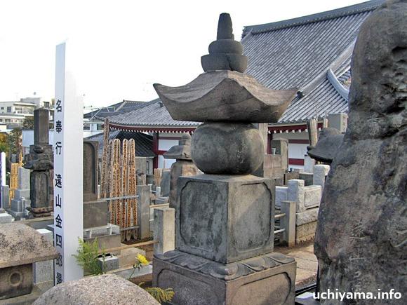 遠山金四郎の墓