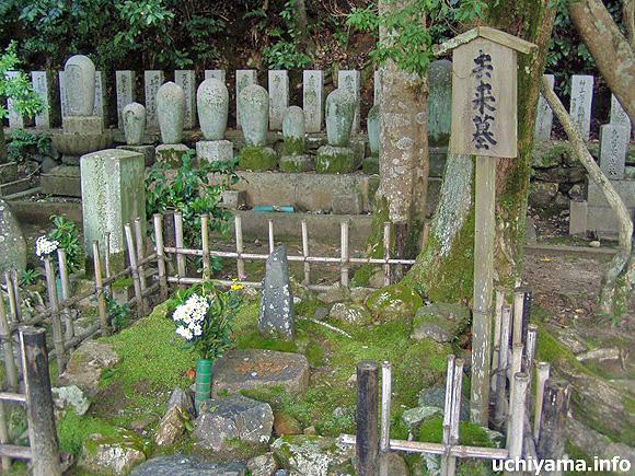 京都・向井去来の墓