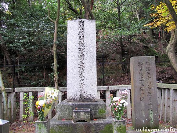 桂小五郎(木戸孝允)の墓