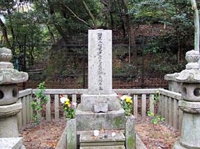 木戸孝允の妻・幾松の墓