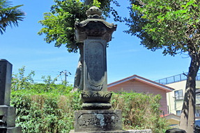 小松屋源蔵の墓