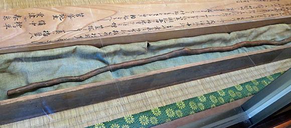 芭蕉翁の椿の杖