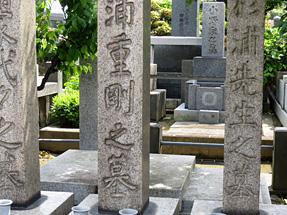 杉浦重剛の墓