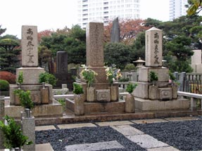 高島鞆之助の墓