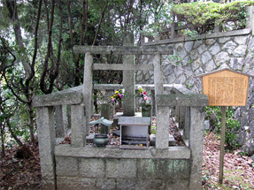 天誅組・吉村寅太郎の墓