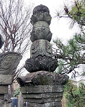 吉良上野介義央の墓