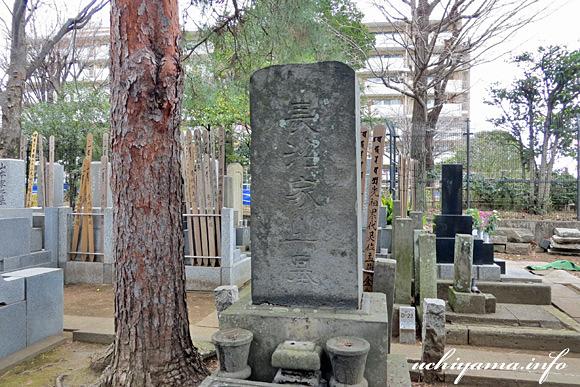 長沼国郷の墓