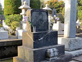 中濱(ジョン)万次郎の墓