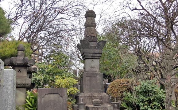 永井家歴代墓