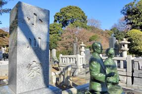小川啓三・幸子の墓