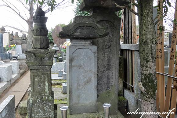 武蔵石寿の墓