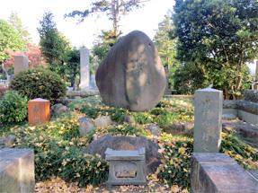 島村抱月の墓