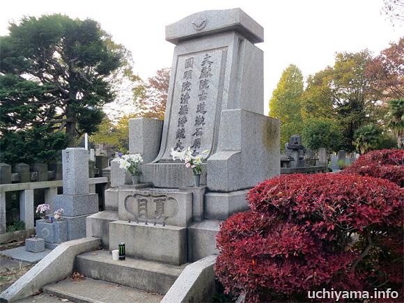 夏目漱石の墓