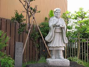深川芭蕉像