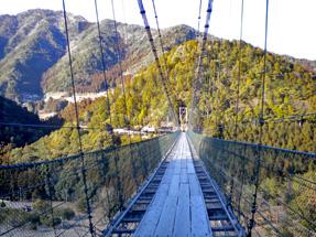 熊野参詣道・谷瀬の吊り橋