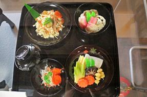 草津宿本陣・和宮通行の食事