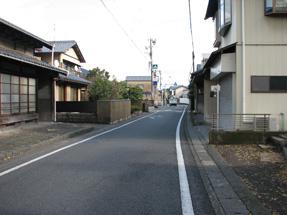 鞠子宿(丸子宿)