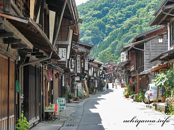 中山道・奈良井宿