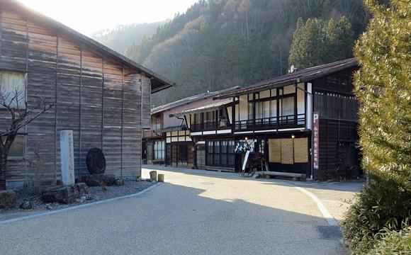 奈良井宿・鍵手