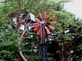 フランスの風車