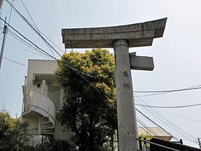 一本柱鳥居